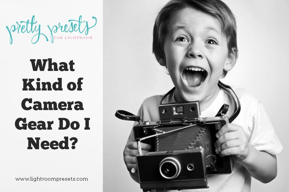 ¿Qué tipo de equipo de cámara necesito?