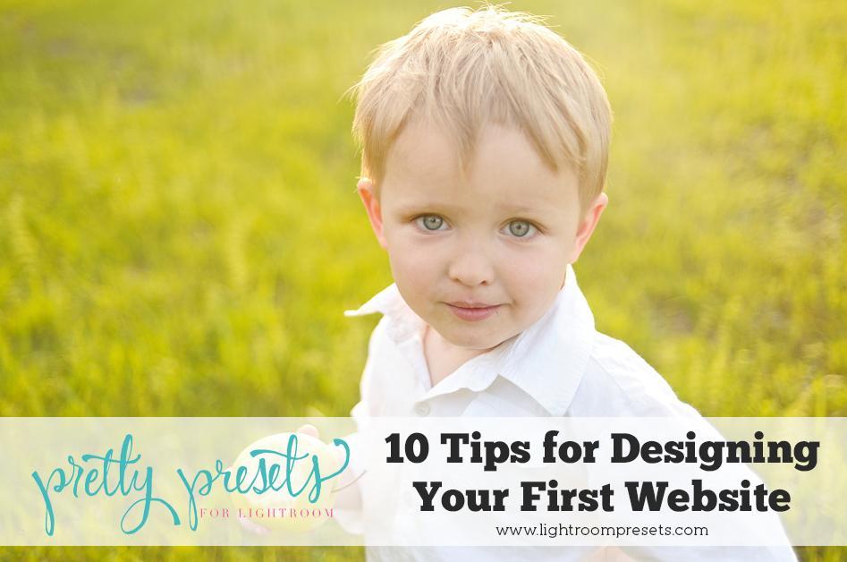 10 consejos imprescindibles para diseñar su sitio web de fotografía