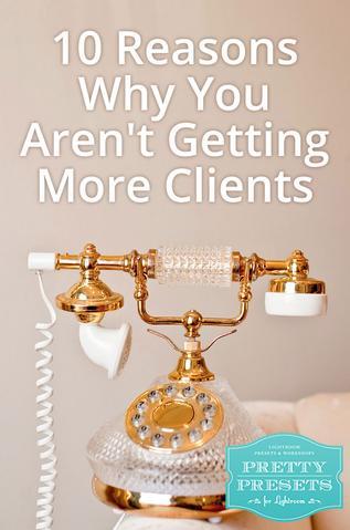 10 razones por las que no obtiene más clientes: no es una empresa legal