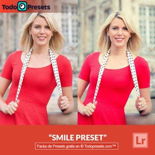 Sonrisa Preset de Lightroom gratis