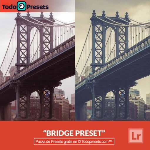 Puente predefinido de Lightroom gratis