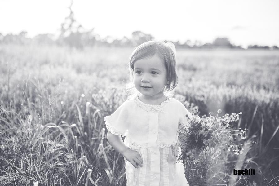 Toma de retratos con luz solar brillante