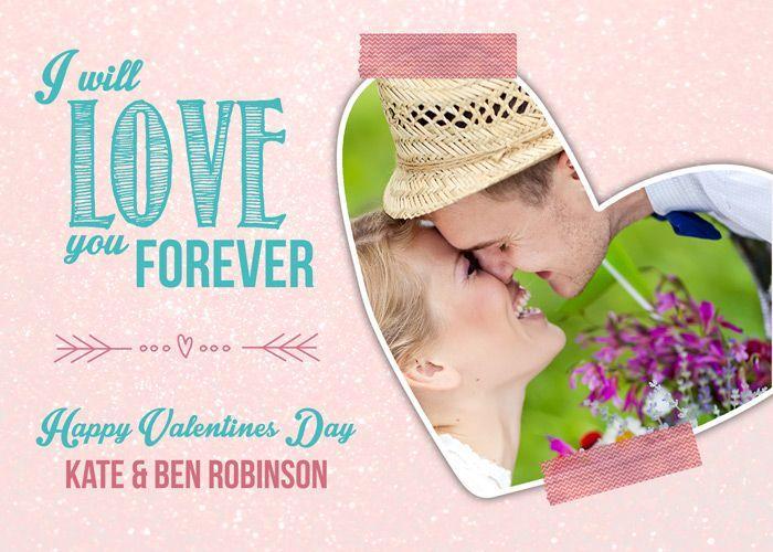 Plantillas de tarjetas de San Valentín gratis
