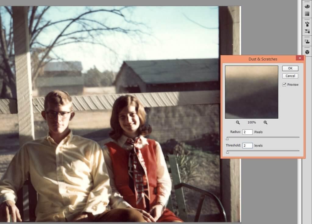 Cómo reparar imágenes antiguas en Photoshop