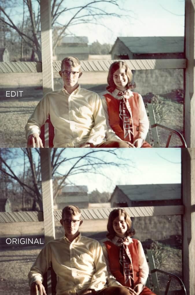 Photoshop retocar fotos antiguas