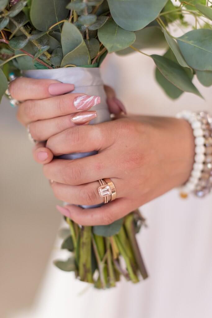 Imágenes de boda temáticas románticas vanguardistas editadas con Pretty Film