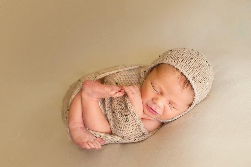 Swaddle de fotografía para recién nacidos