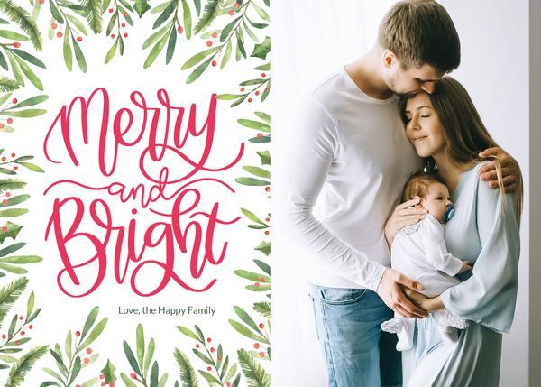3 plantillas gratuitas de tarjetas navideñas y festivas (DESCARGA GRATUITA)