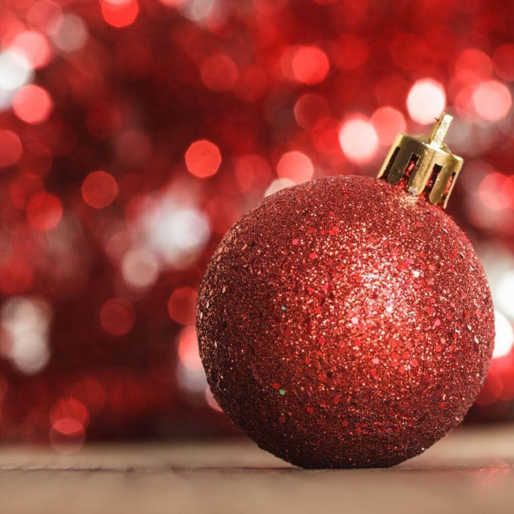 Fotografía luces de Navidad