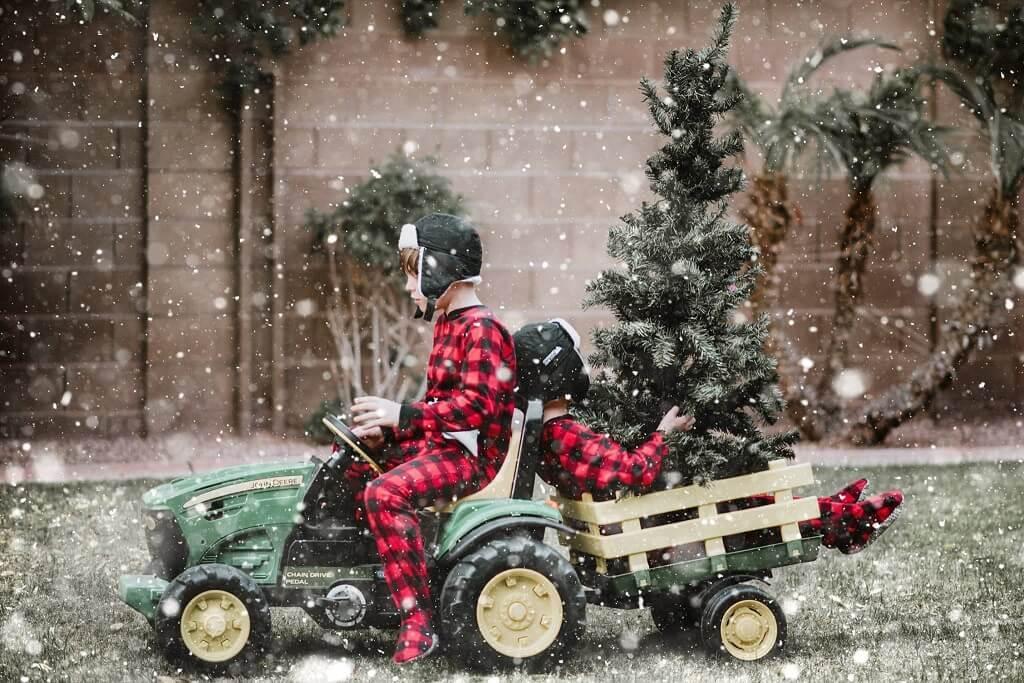 Ideas para fotos de tarjetas de Navidad