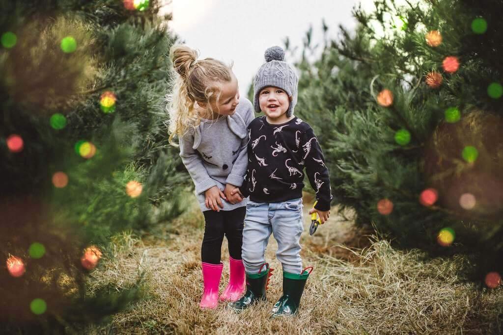 Ideas para sesiones de fotos familiares navideñas