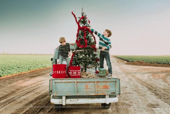 Ideas para sesiones de fotos navideñas familiares