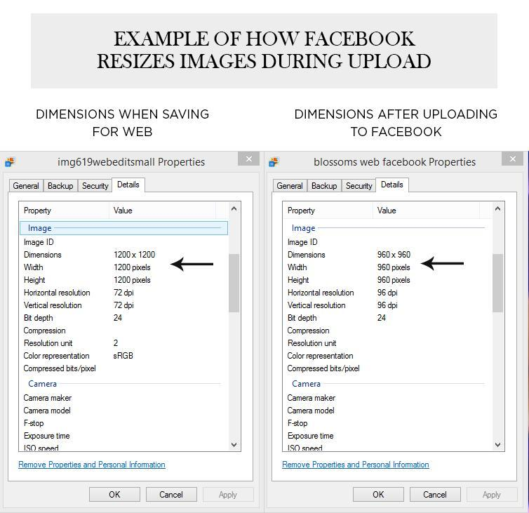 Cómo cambiar el tamaño de una imagen para Facebook