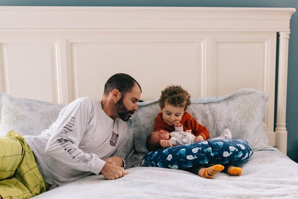 Fotografía de cuentos Foto de un padre y un hijo