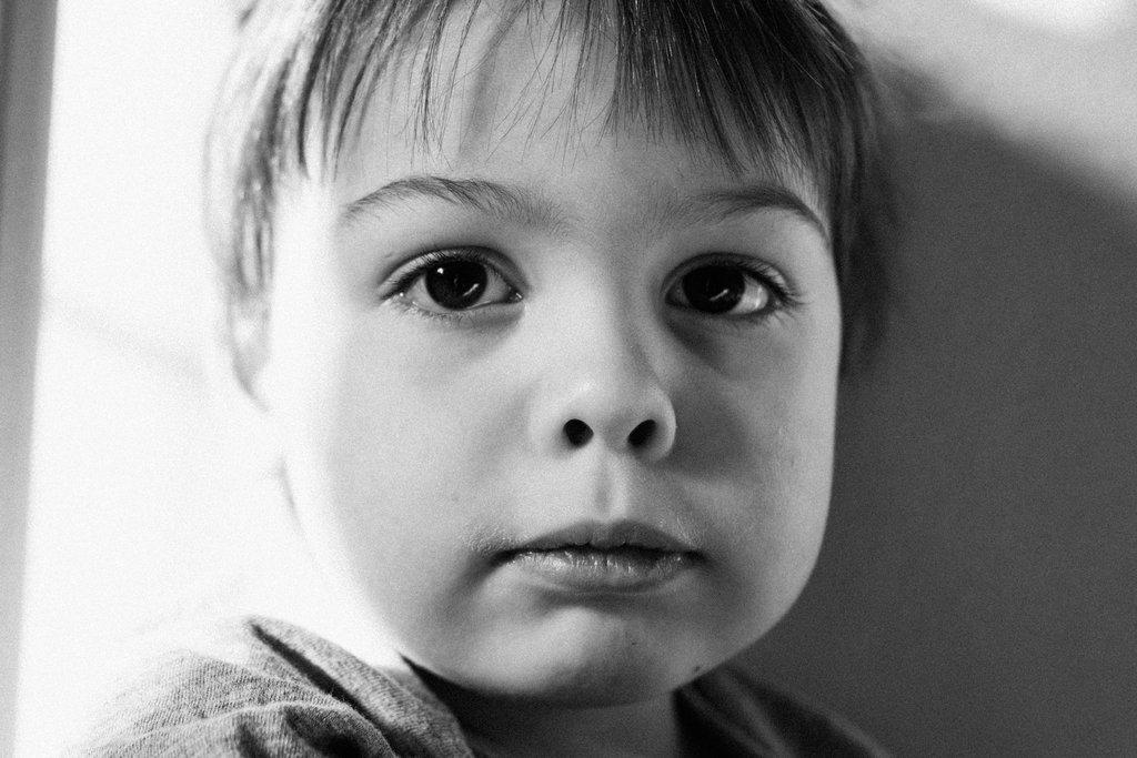Fotografía de familia retrato de niño