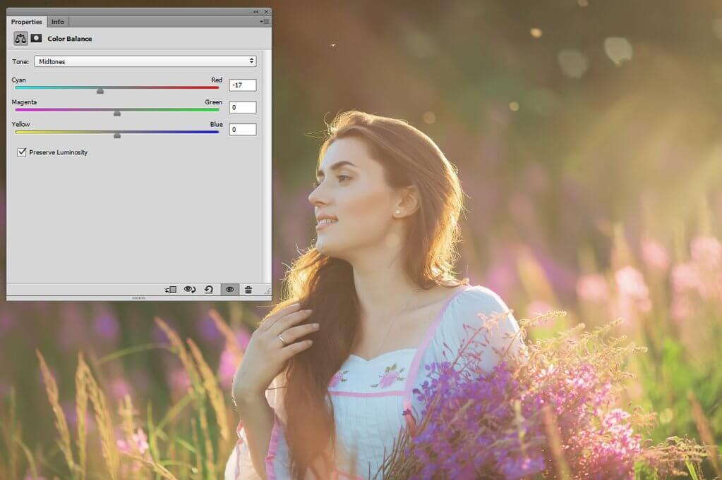 cómo ajustar el balance de blancos en Photoshop