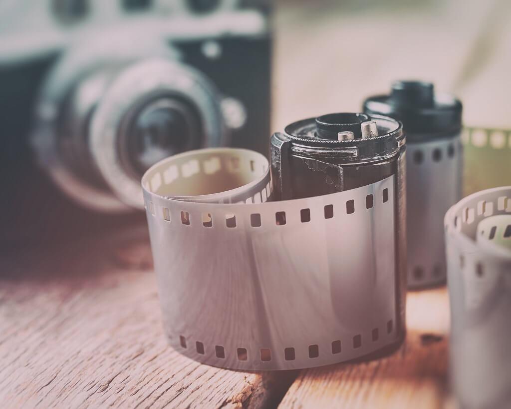 Revelado de película de 35 mm en casa