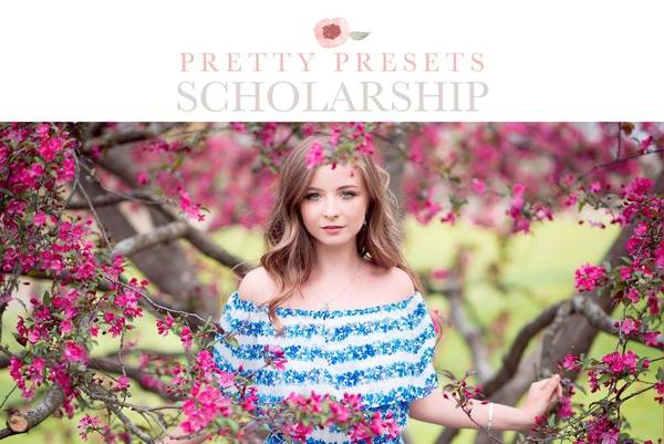 Pretty Presets for Lightroom 2018 Summer Scholarship Winner