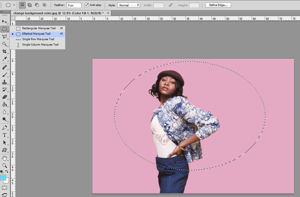 cómo cambiar el color en photoshop