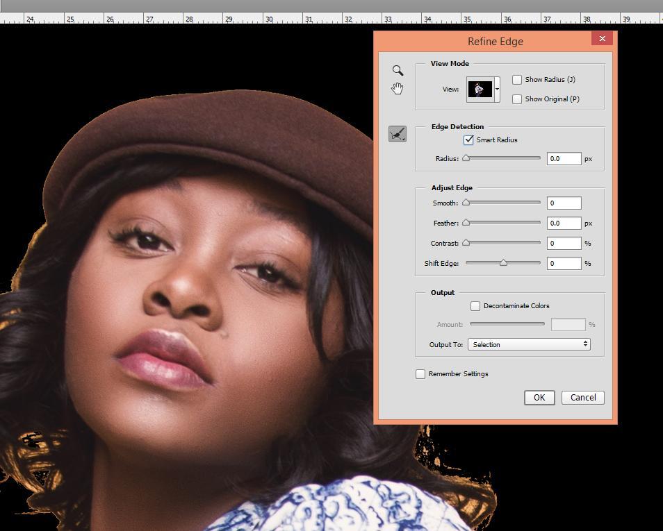 cómo cambiar el fondo en Photoshop