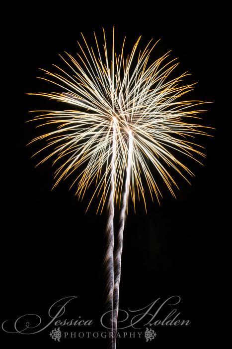 Cómo tomar fotos de fuegos artificiales