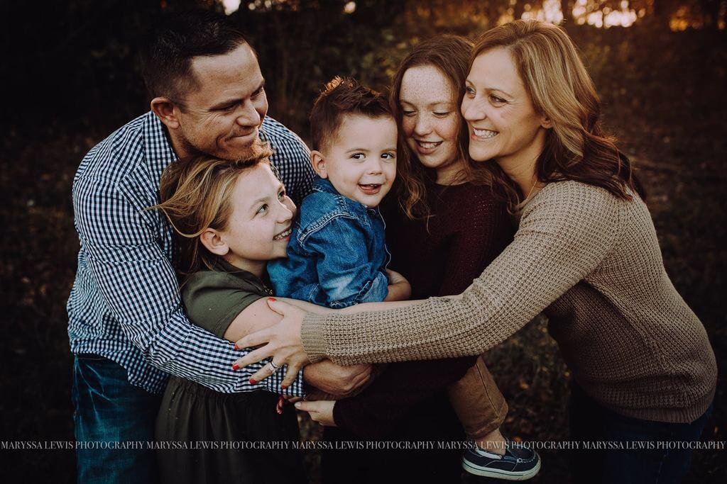 Consejos para la sesión de fotos familiares