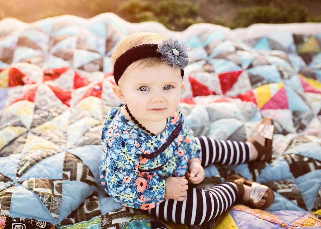 Sesión de fotos familiar con bebé