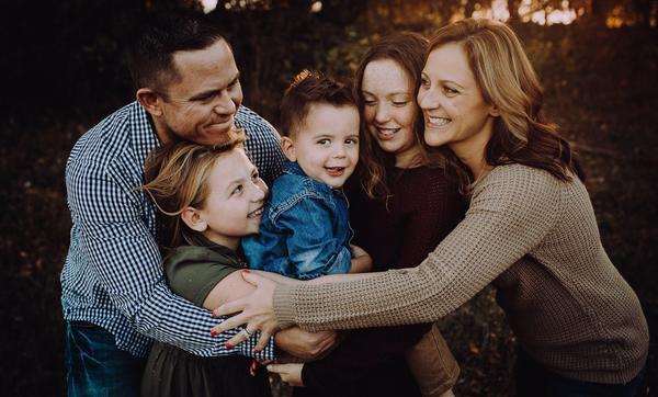 6 consejos para la sesión de fotos familiares (para fotos familiares increíbles)