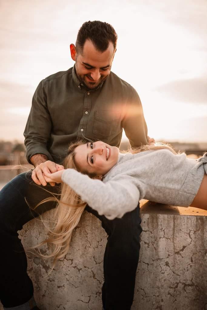 Fotos de compromiso de pareja