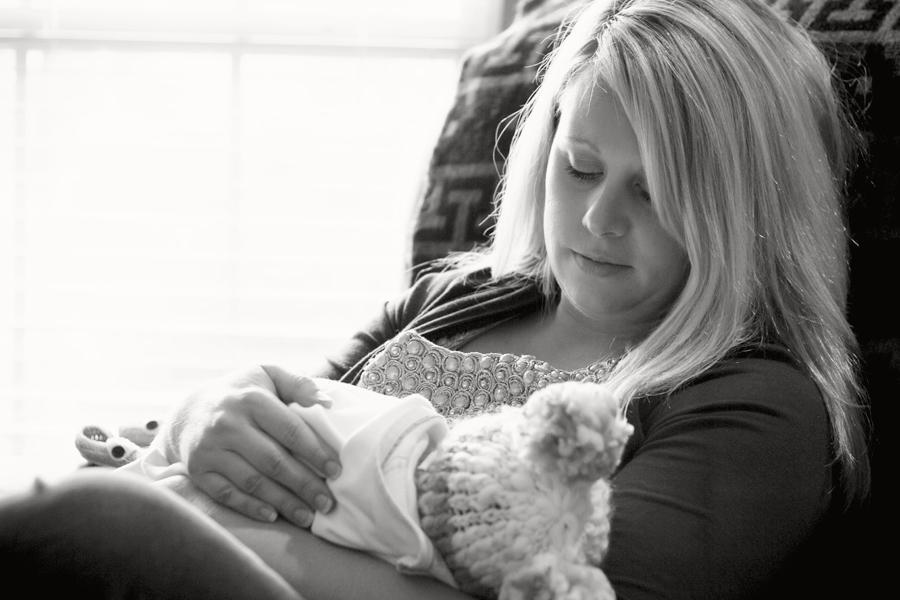 Sesión de estilo de vida para recién nacidos