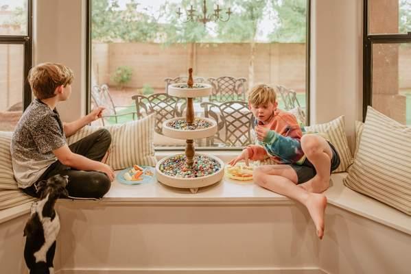 Fotografiar a su familia durante la cuarentena