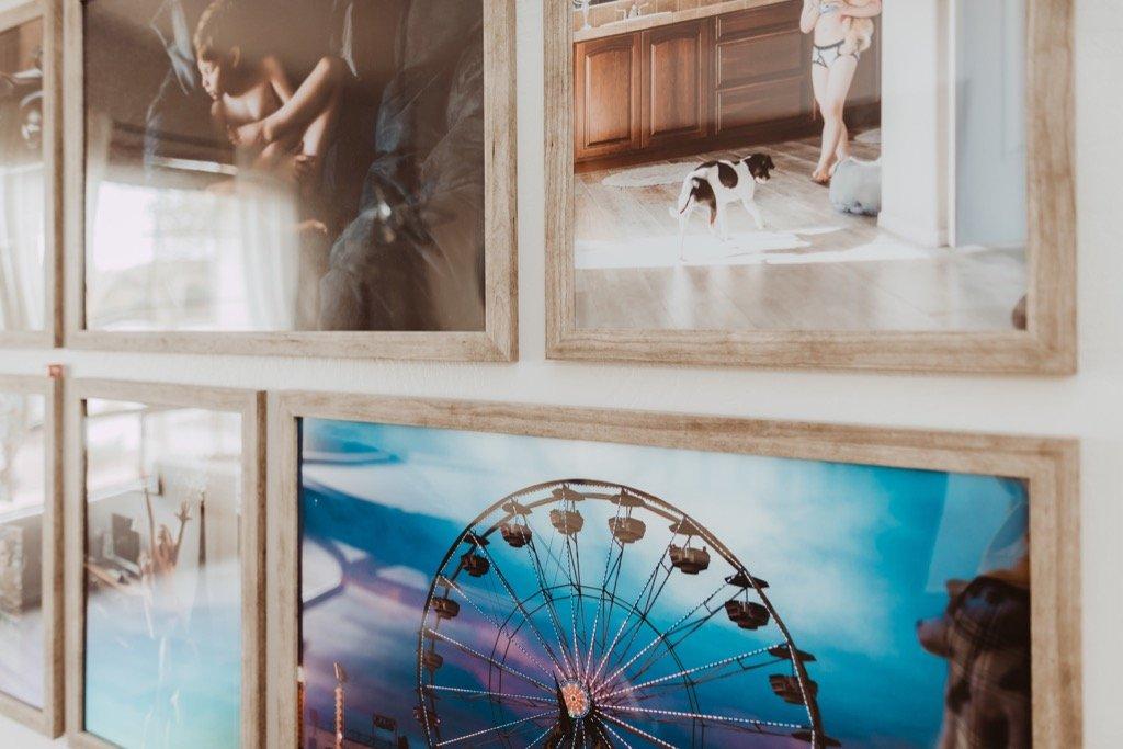 Creación de un muro de imágenes en su hogar