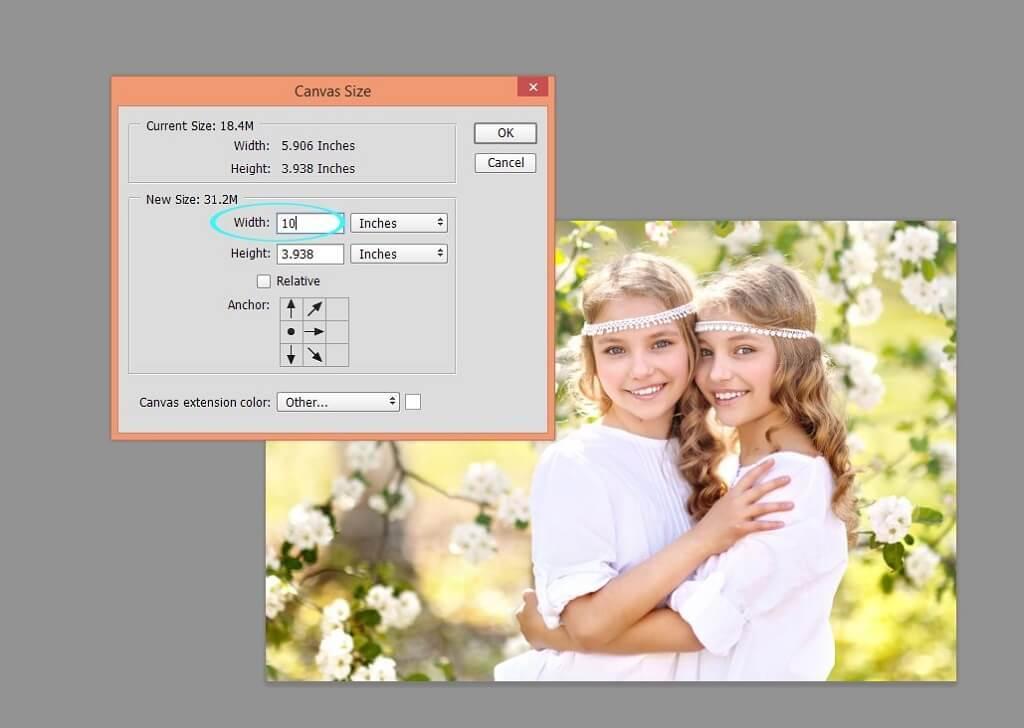 cómo hacer un díptico en photoshop