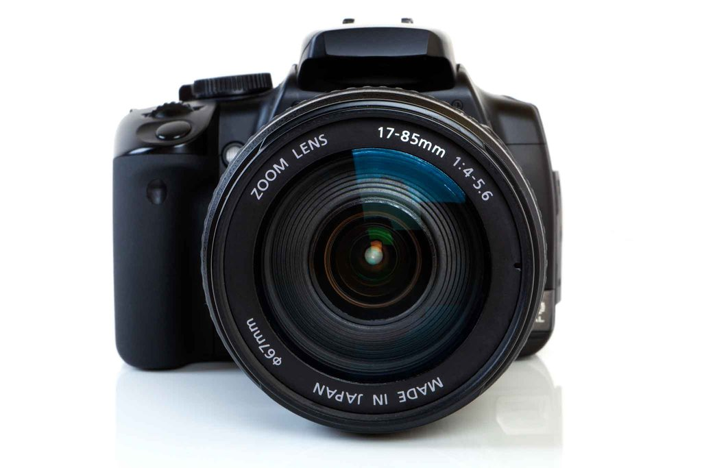 elegir una lente de cámara