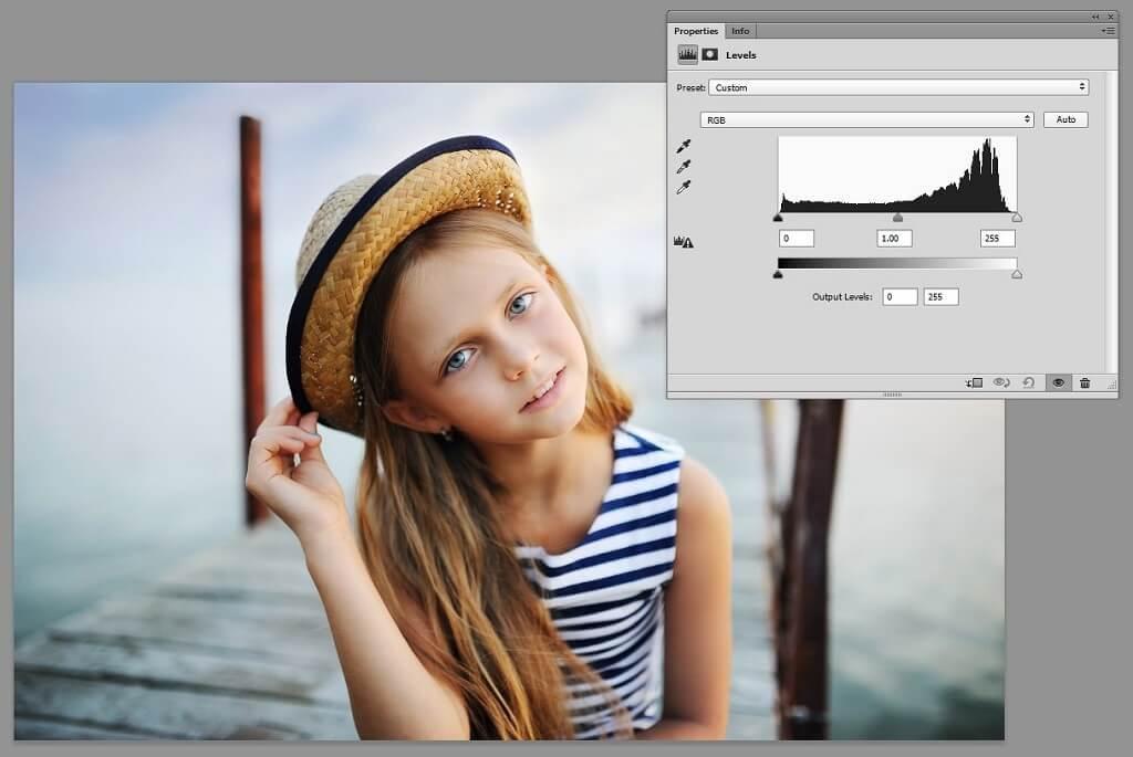 photoshop histograma
