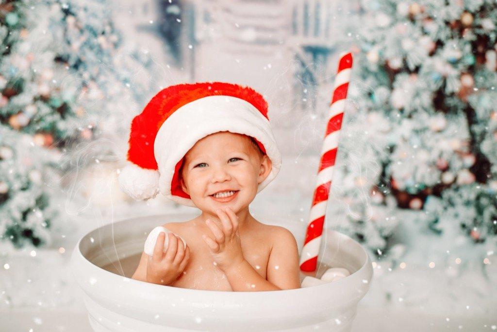 Mini sesión de fotos de Navidad