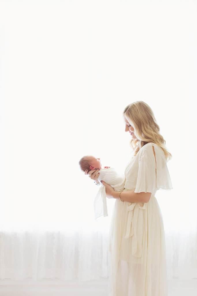 seguridad de la fotografía del bebé