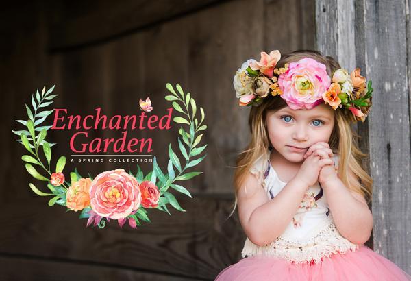 Los mejores presets de Spring Lightroom: Enchanted Garden Collection