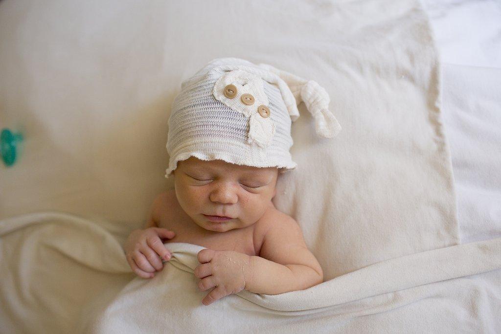 Desvanecimiento de la manta del recién nacido