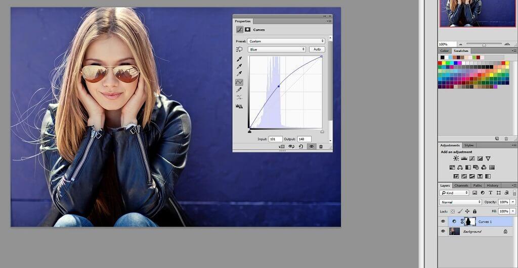 ¿Qué hacen las curvas en Photoshop?