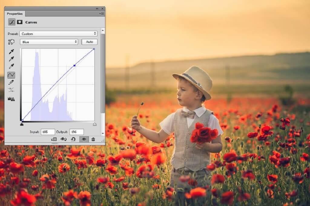 Comprender las curvas en Photoshop