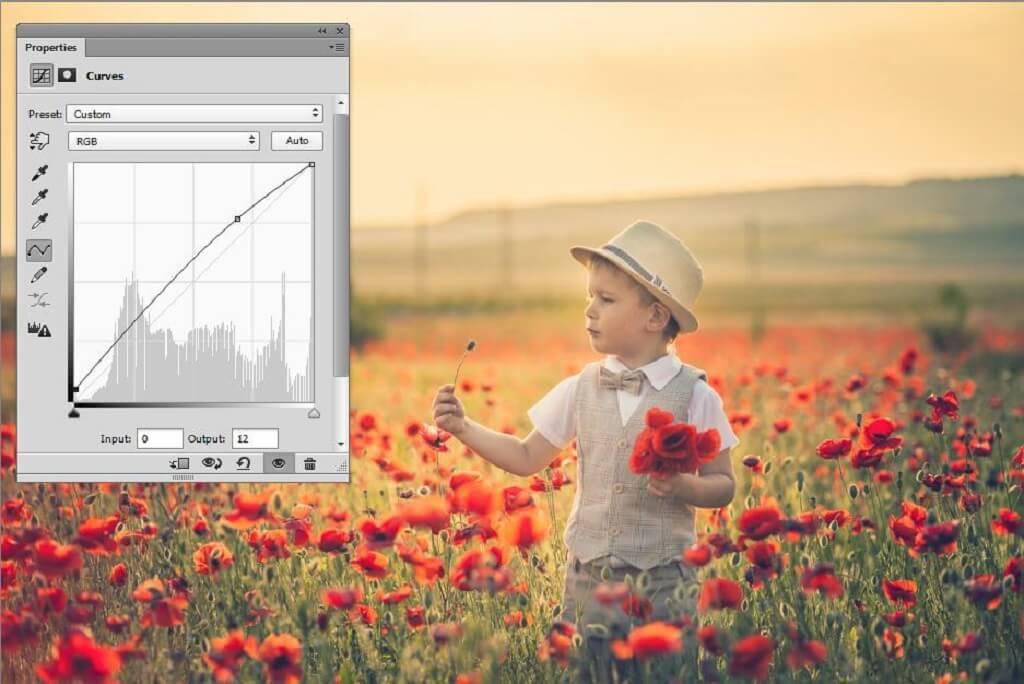 Cómo usar curvas en Photoshop
