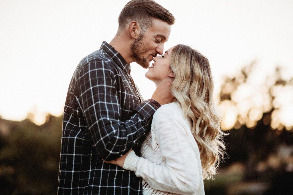 Las mejores fotos de 2018 - Pareja besándose