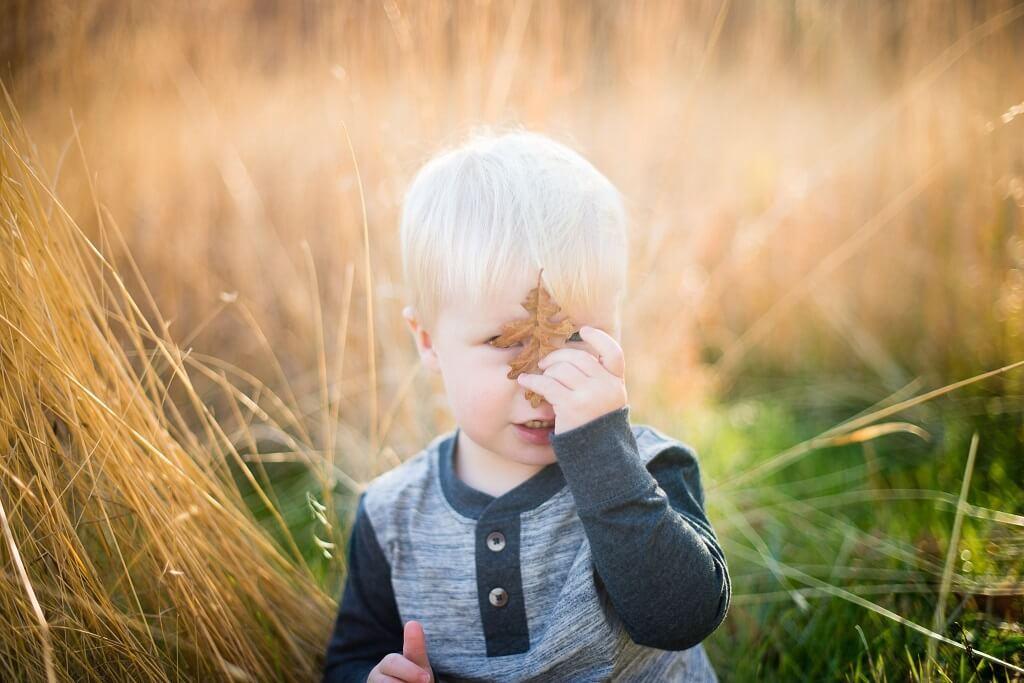 ideas de fotos para niños pequeños