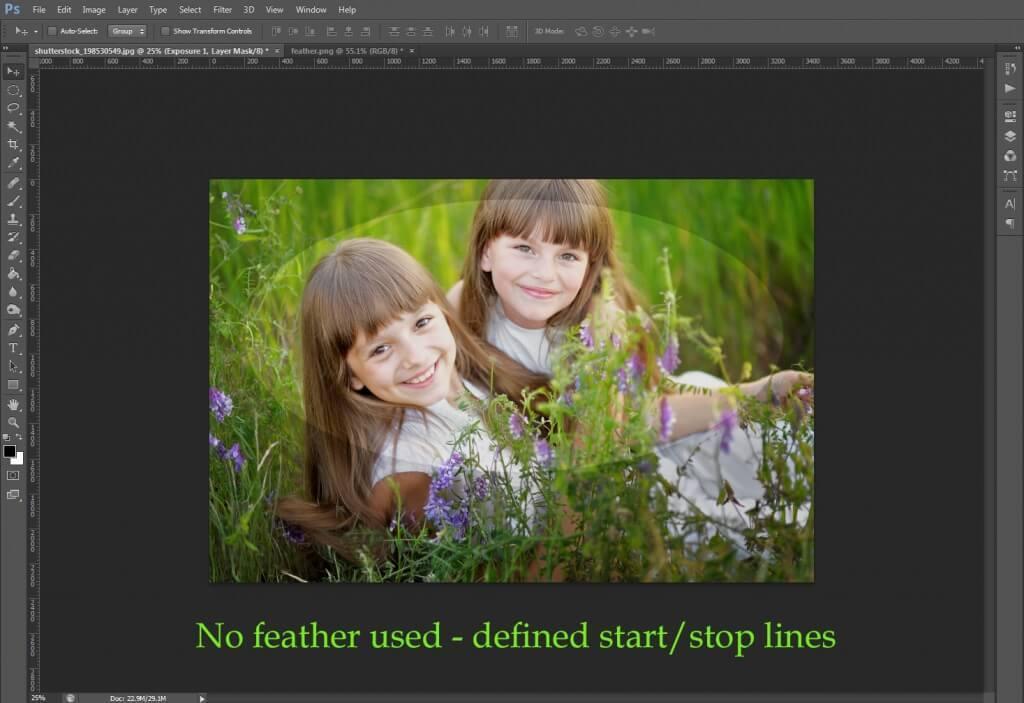 Uso de la herramienta Marquesina en Photoshop
