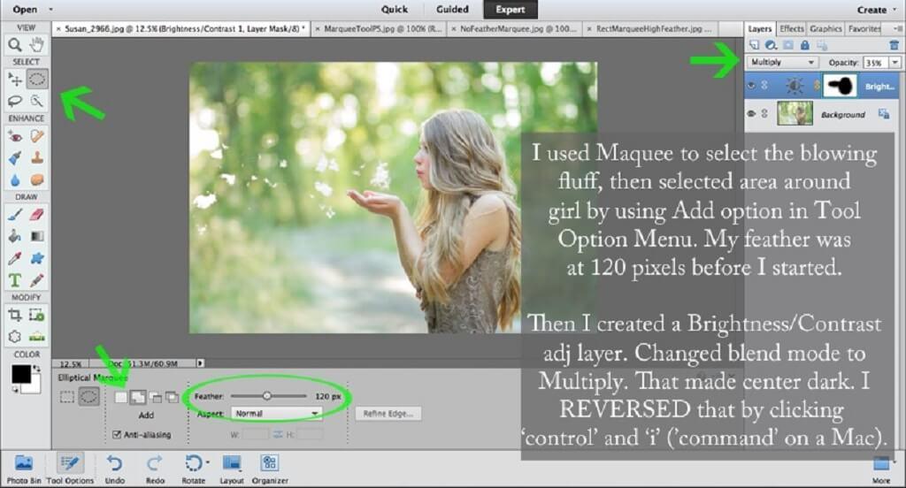 Cómo utilizar Photoshop Tool Marquee
