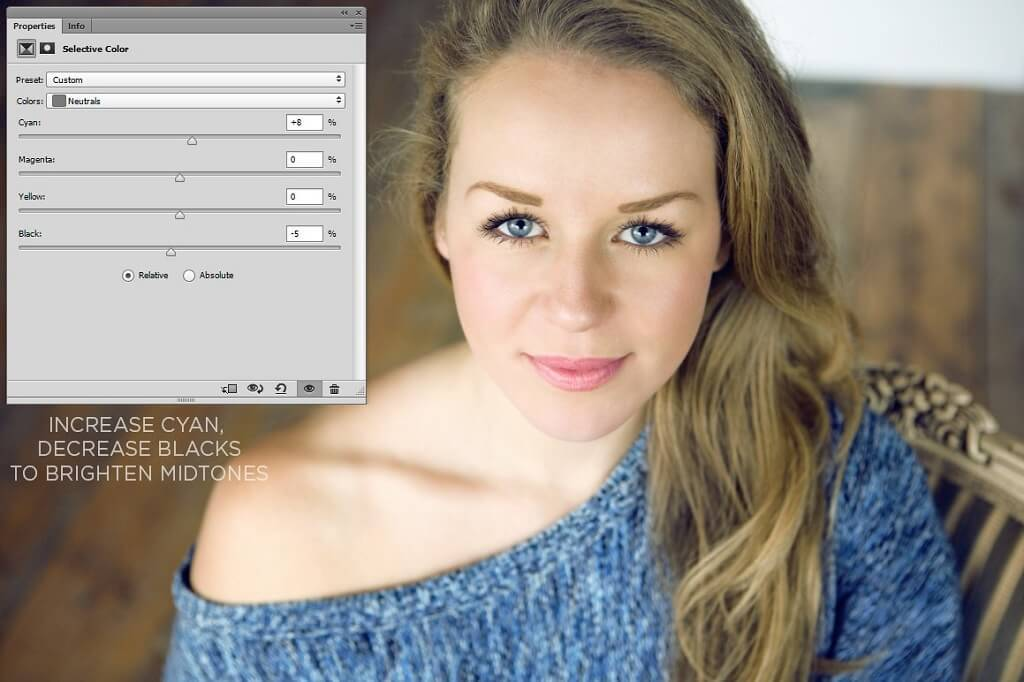 Uso de color selectivo en Photoshop