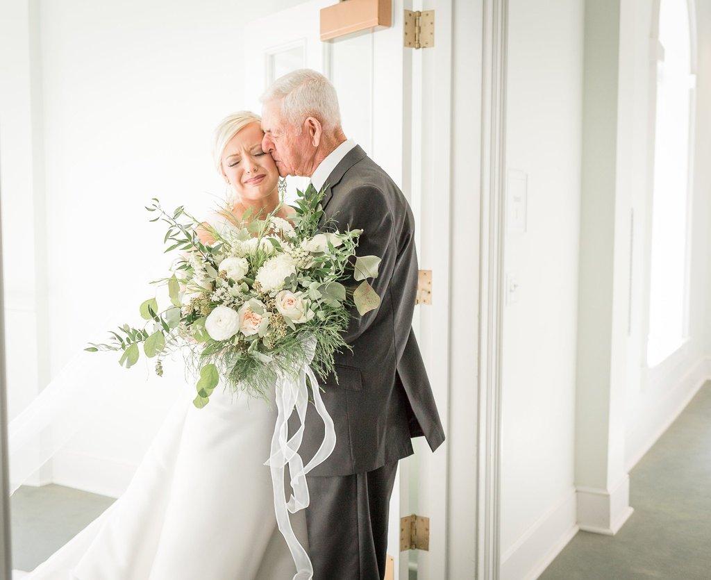 Fotos de la boda de la novia y el padre