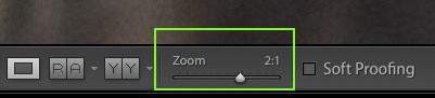 Zoom de Lightroom