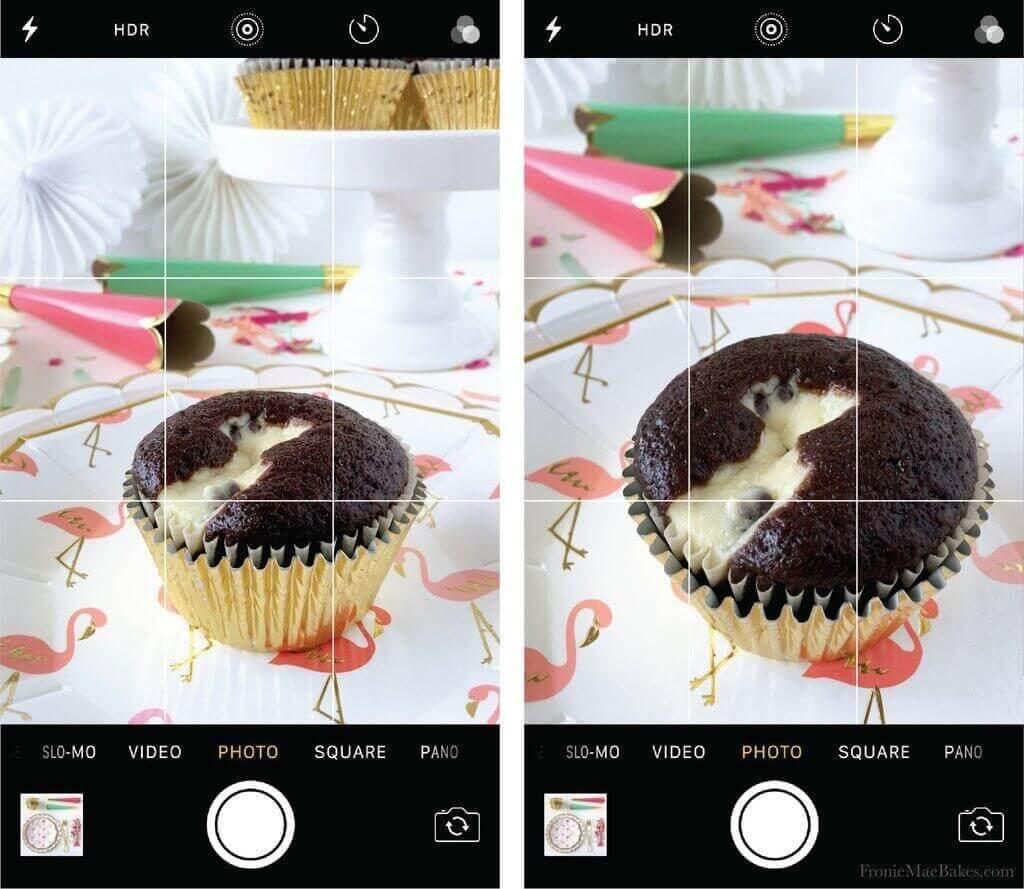 Cómo fotografiar comida con el iPhone